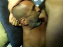 grandpa sucks a fat pounder