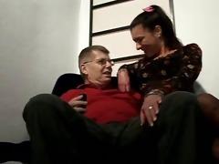 wife fucks aged man
