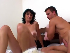 euro cougar drilled by younger chap