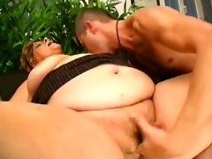thick old babe bonks a juvenile stud - porn zone